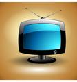 tv icon vector image