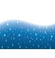 water wave vector image vector image