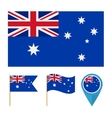 Australiacountry flag vector image