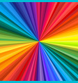abstract rainbow swirl vector image vector image