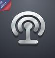 Wifi icon symbol 3D style Trendy modern design vector image vector image
