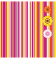 Easter seamless stripe background vector image vector image