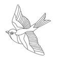 song bird 4 vector image vector image