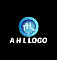 a h l logo design