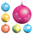 Ball collection vector image vector image