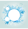 banner with coral and fish vector image vector image