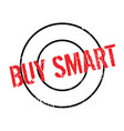 buy smart rubber stamp vector image vector image
