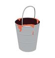 icon bucket vector image vector image