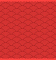japanese seamless wave pattern traditional vector image vector image