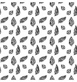 leaf brush seamless pattern vector image vector image