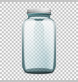preparations bottle mockup vector image vector image