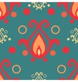 Retro ornament seamless vector image