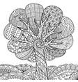 tree 3 vector image vector image