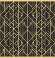 abstract art deco seamless pattern 04 vector image vector image