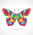 Butterfly abstract vector image vector image