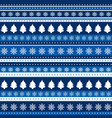 christmas blue background wrapping paper vector image vector image