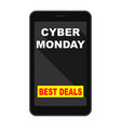 cyber monday vector image