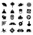 oriental icons vector image