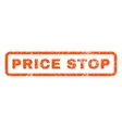 Price Stop Rubber Stamp vector image vector image