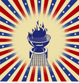 Red White and BBQ vector image vector image