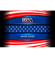 usa flag backgrounds vector image vector image