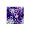 Abstract lilac leafs vector image