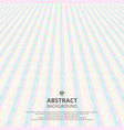 abstract of soft sweet stripe line pattern vector image vector image