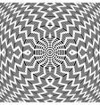 Abstract rotation pattern vector image vector image
