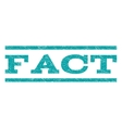 Fact Watermark Stamp vector image vector image