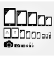 Mobile electronics vector image vector image