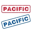 Pacific Rubber Stamps vector image vector image