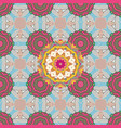 seamless pattern with abstract ornament seamless vector image vector image