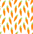 Seamless Pattern with Ripe Carrots vector image vector image