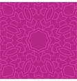 Seamless pink paisley background vector image vector image