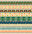 wild ethnic african art background pattern vector image vector image