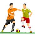 al 0249 soccer 04 vector image vector image