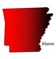 arkansas halftone vector image