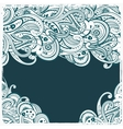 Beautiful ornament vector image vector image