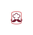 chef-logo vector image vector image