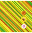 Easter stripe background vector image vector image