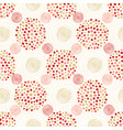 ethnic pattern circles background for wrapping vector image vector image