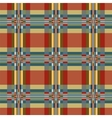 Geometric textile seamless pattern vector image vector image