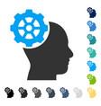head gear icon vector image