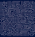 microchip board seamless pattern background vector image vector image