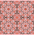 seamless doodle pattern ethnic motives grey and vector image vector image