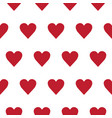 seamless pattern with small hearts on white vector image vector image