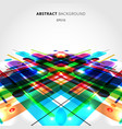 abstract motion dynamic composition made vector image vector image