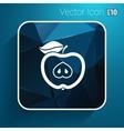 apple element logo nature vector image vector image