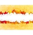 Autumn leaves background plus EPS10 vector image