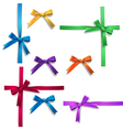 Bows vector image vector image